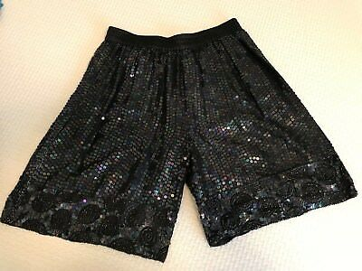 VINTAGE Sequin CEE CEE shorts SMALL Great Condition! Elastic Waist Sz. 6 -8 -10