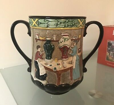 Royal Doulton Pottery In The Past Collectors Club Loving Cup / Jug