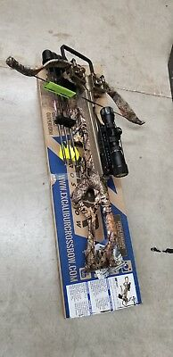 Excalibur 308 short Tact-Zone Scope Crossbow Package Realtree Xtra