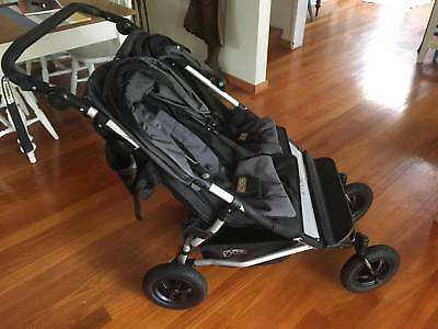 Mountain Buggy Double Pram, 18 months old, great condition