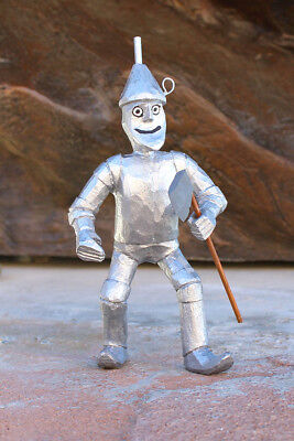 "NAVAJO FOLK ART-WIZARD OF OZ ""TIN MAN""  by  VIRGIL WOOD - NATIVE AMERICAN"