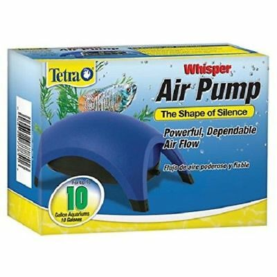 Tetra Whisper Air Pump Water Fish Tank Aquarium Quiet Filter 10 40 60 100 Gallon