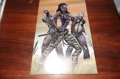 The Walking Dead #19 15th anniversary Campbell COLOR VIRGIN Variant blind bag