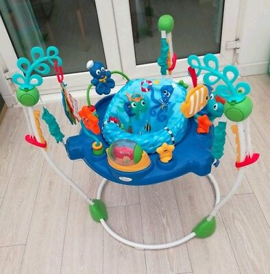 Baby Einstein Neptune's Ocean Discovery Jumperoo activity centre musical