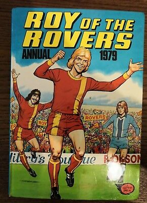 Roy of the Rovers annual 1979 - Very good condition