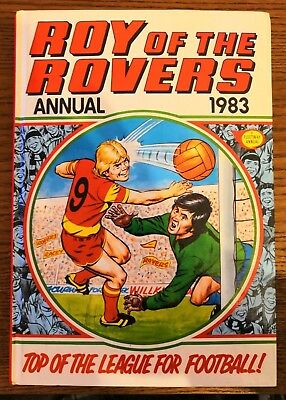Roy of the Rovers annual - 1983 very good condition.
