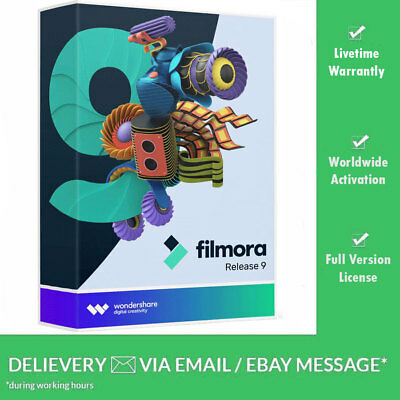 ⚡️ Wondershare Filmora 9.0.1  Video Editor 5 PC's Lifetime License (Download) ⚡️
