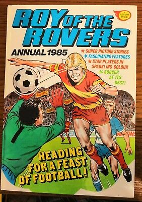 Roy of the Rovers annual 1985 - Very good condition
