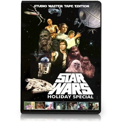 The Star Wars Holiday Special DVD - Life Day - Chewbacca - Solo - Christmas Xmas