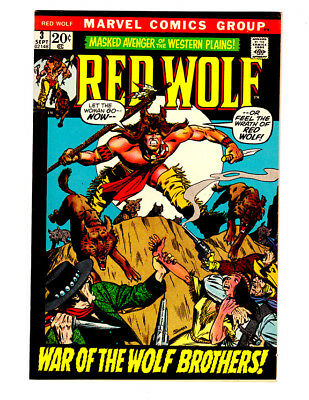 RED WOLF #3 in VF/NM condition a 1972 Marvel Western Comic
