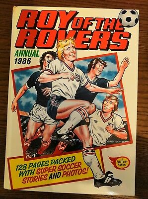 Roy of the Rovers annual 1986 - Very good condition