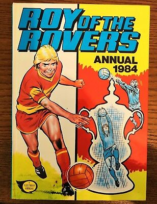 Roy of the Rovers annual 1984 - Very good condition