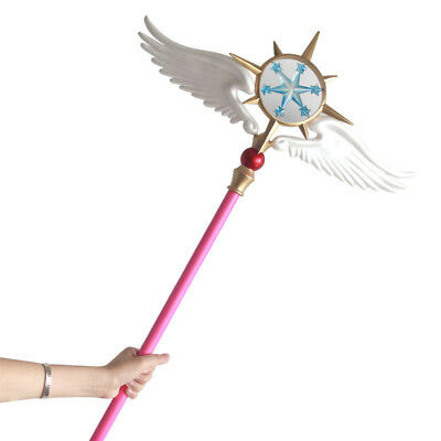 Anime Cardcaptor Sakura Cosplay Props Accessories Magic Wand Sticks Plush Toy Costume Props