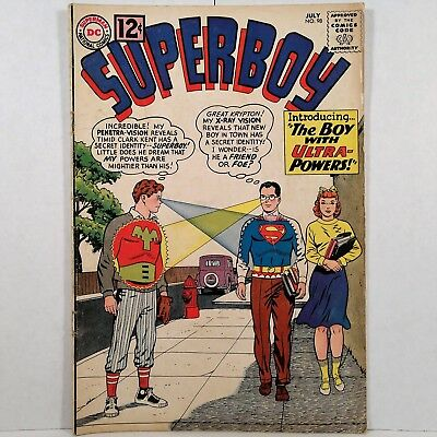 Superboy - No. 98 - DC National Periodical Pub. - July 1962 - No Reserve