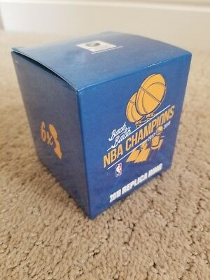 Golden State Warriors Replica Champs Ring 2018 | 10/22 Home Game, MINT Condition