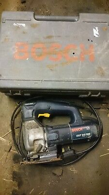 Bosch GST 85 PBE 110v Jigsaw with Case Spares or repair.