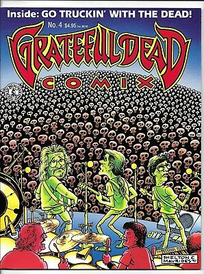 JERRY GARCIA GRATEFUL DEAD COMIX #4 1991 1st Series Kitchen Sink Comix x1
