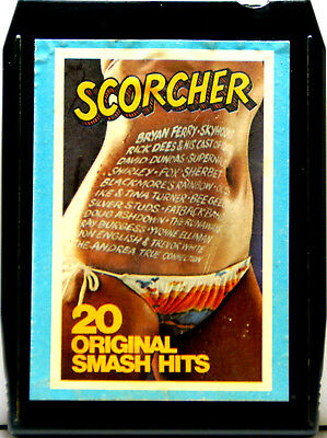 SCORCHER Various Original Artists  8 TRACK TAPE  CARTRIDGE