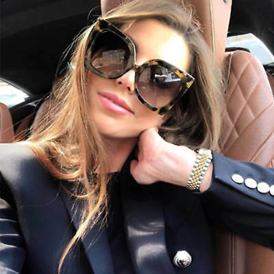 Large Oversized Retro Sunglasses Gradient Lens Large Square Frame Women Fashion