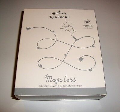 New Mib Hallmark 2013 Keepsake Magic Power Cord For Up To 7 Magic Ornaments