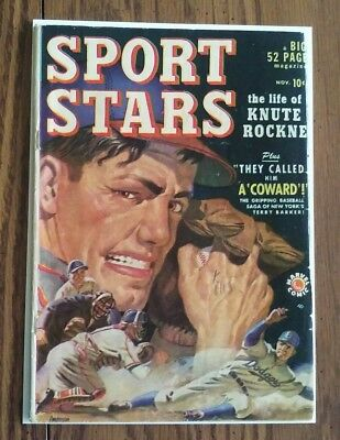 Sport Stars #1 (1949) Marvel Comics