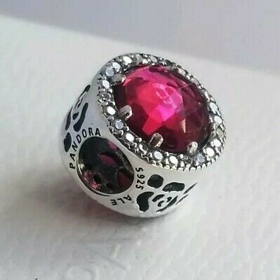 b2085ed88 PANDORA Disney, Belle's Radiant Rose Charm 792140NCC Authentic NWT with  pouch