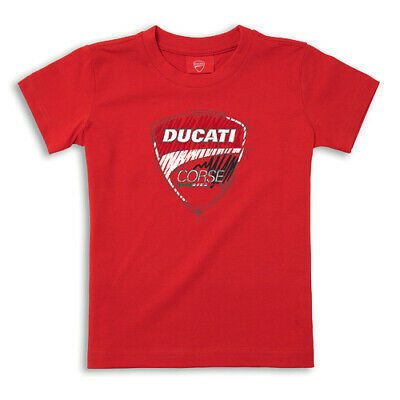 NEW Motorcycle Ducati Genuine Kids Corse Sketch T-Shirt - D987696404_10