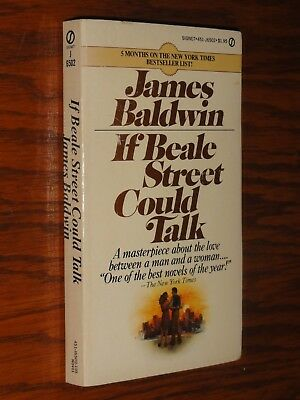 If Beale Street Could Talk JAMES BALDWIN 1975 First Printing Paperback Signet