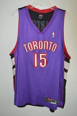 06e204ade10 ... alternate swingman jersey black red d7ba1 632c6; low cost rare vtg nike  authentic vince carter 15 nba toronto raptors jersey mens 52 xl