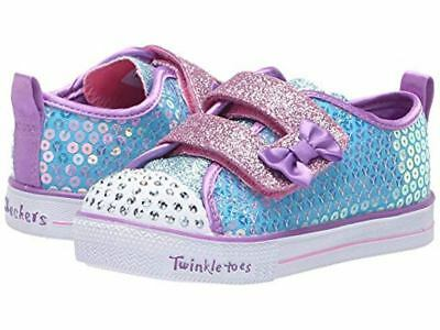 28f1c3cee28e Skechers Toddlers Shoes Twinkle Toes Shuffle Lite Mini Mermaid 20063  Turquoise