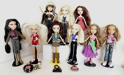 BRATZ DOLLS MGA DRESSED + SHOES HAIR IN VGC  YOU CHOOSE ONE OR MANY no 8