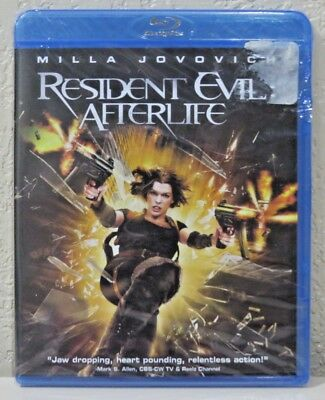 Resident Evil: Afterlife (Blu-ray Disc, 2010) BRAND NEW>FREE SHIPPING!