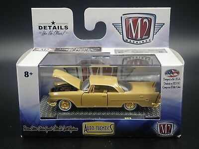 1957 Chrysler 300C 2018 M2 Machines Auto-Thentics Rare Gold Chase 1/750 R53
