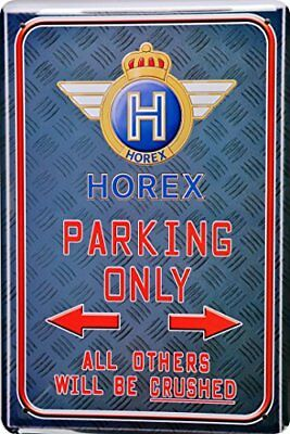Suzuki Parking Only Motorrad Garage Parkplatz Metal Sign Parking