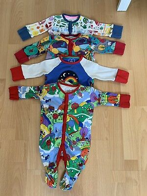 Little Bird Sleepsuits Babygtows Age 0-3 Months