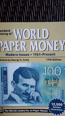 World Paper Money - Banknotenkatalog 17th edition modern issues