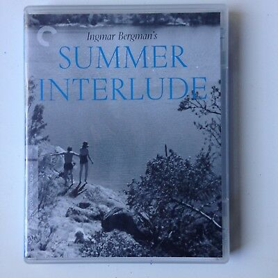 SUMMER INTERLUDE Blu-ray (Criterion Collection) Ingmar Bergman / Region A