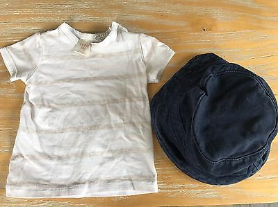 Seed Baby 3-6 Months T-shirt And Hat