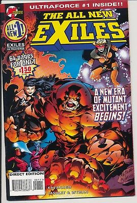 All New Exiles 1 Ultraverse And Ultraforce 1 High Grade