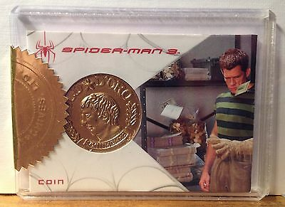 Spiderman 3 Expansion Set Sandman Münze Relic Karte 169/600