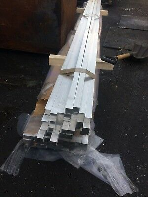 aluminium Bar rod section 30mm SQUARE 1 METRE LONG FREE DELIVERY
