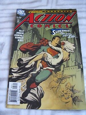 DC Action Comics Superman This was your life No 836 Apr 06