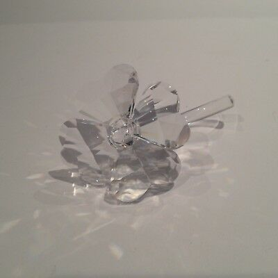Swarovski Crystal Four Leaf Clover 7483 000 001 Mint Boxed And Retired