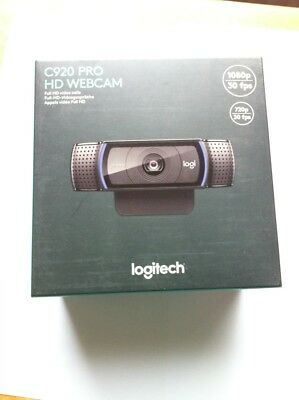 Logitech C920 HD Pro Webcam, Full HD 1080p Video Calling and Stream Gaming
