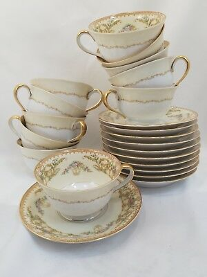 ~Nanette By Noritake #683  Cup & Saucer Rare Vintage~ Pattern Discontinued