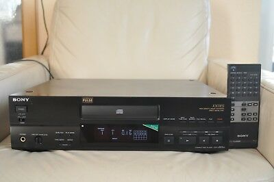SONY CDP X 303 ES High End CD Player Compact Disc Player Kompact Burr Brown PCM