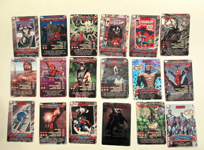 Spiderman Russian rare cards of 2008-2010's 18 pieces Marvel original
