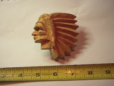 BOY SCOUTS BSA Hand Carved and Painted Wood Neckerchief Slide !!!(FOLK ART)!!!!!