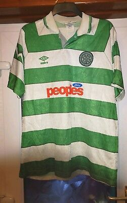 Celtic FC Replica Home Top 1991