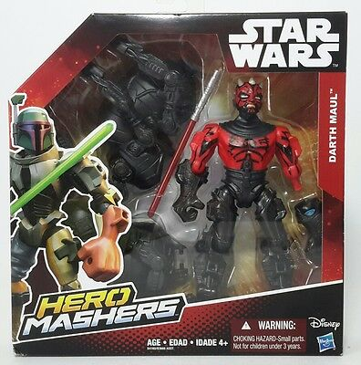 Star Wars Hero Mashers Deluxe Darth Maul Buildable Action Figure - *New*